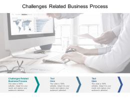 Challenges Related Business Process Ppt Powerpoint Presentation Infographics Samples Cpb