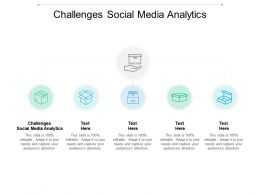 Challenges Social Media Analytics Ppt Powerpoint Presentation Infographics Diagrams Cpb
