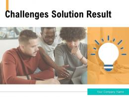 Challenges Solution Result Business Opportunities Engagement Product Performance