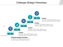 Challenges Strategic Partnerships Ppt Powerpoint Presentation Professional Infographic Cpb