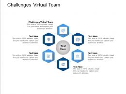 Challenges Virtual Team Ppt Powerpoint Presentation Summary Layout Ideas Cpb