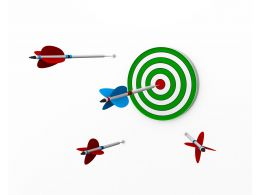 Chances Of Hitting Your Target Stock Photo