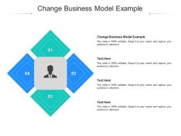 Change Business Model Example Ppt Powerpoint Presentation File Files Cpb