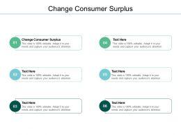 Change Consumer Surplus Ppt Powerpoint Presentation Layouts Model Cpb