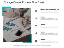 Change Control Process Flow Chart Ppt Powerpoint Presentation Ideas Cpb