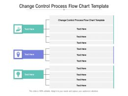 Change Control Process Flow Chart Template Ppt Powerpoint Presentation File Show Cpb