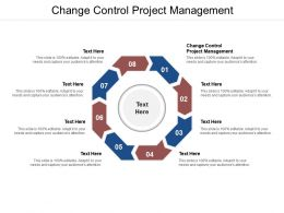 Change Control Project Management Ppt Powerpoint Presentation Deck Cpb