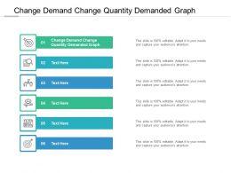 Change Demand Change Quantity Demanded Graph Ppt Powerpoint Presentation Infographics Backgrounds Cpb
