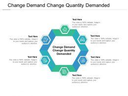 Change Demand Change Quantity Demanded Ppt Powerpoint Presentation Layouts Ideas Cpb