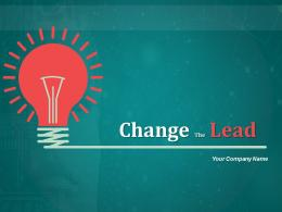 Change Lead Change Lead With Leading Man Running