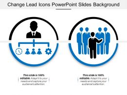 Change Lead Icons Powerpoint Slides Background