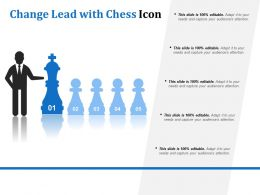 Change Lead With Chess Icon