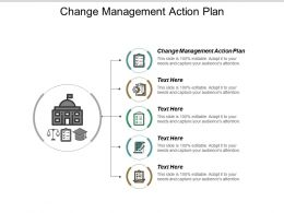 Change Management Action Plan Ppt Powerpoint Presentation Pictures Visual Aids Cpb