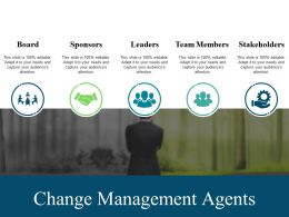 Change Management Agents Powerpoint Graphics