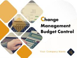 Change Management Budget Control Powerpoint Presentation Slides