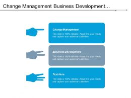 Change Management Business Development Human Resources Management Venture Capital Cpb