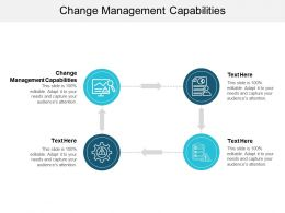 Change Management Capabilities Ppt Powerpoint Presentation Styles Summary Cpb