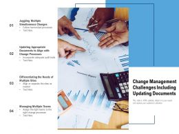 Change Management Challenges Including Updating Documents