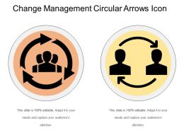 Change Management Circular Arrows Icon