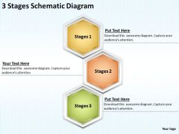 Change Management Consulting 3 Stages Schematic Diagram Powerpoint Templates PPT Backgrounds For Slides