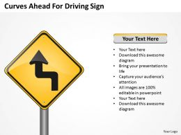Change Management Consulting Ahead For Driving Sign Powerpoint Templates PPT Backgrounds Slides 0618