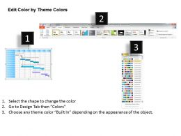Change Management Consulting Monthly Gantt Chart Powerpoint Templates PPT Backgrounds For Slides 0618