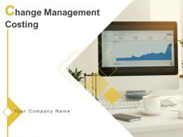 Change Management Costing Powerpoint Presentation Slides