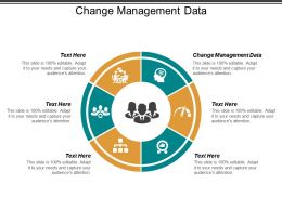 Change Management Data Ppt Powerpoint Presentation Pictures Background Designs Cpb