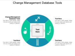Change Management Database Tools Ppt Powerpoint Presentation Infographic Template Objects Cpb