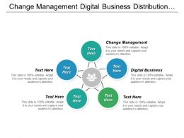 Change Management Digital Business Distribution Management Technology Communication Cpb