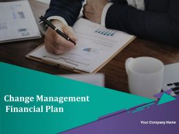 Change Management Financial Plan Powerpoint Presentation Slides