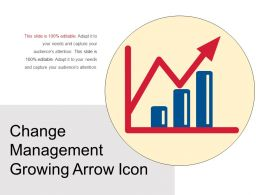 Change Management Growing Arrow Icon