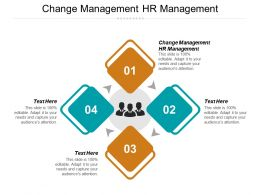 Change Management HR Management Ppt Powerpoint Presentation Gallery Slides Cpb