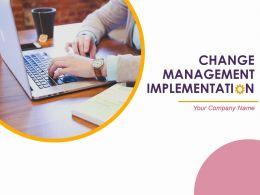 Change Management Implementations Powerpoint Presentation Slides