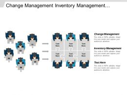 Change Management Inventory Management Management System Sales Management Cpb