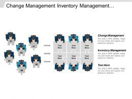Change Management Inventory Management Management System Sales Management Cpb