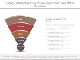 Change Management Key Points Powerpoint Presentation Templates