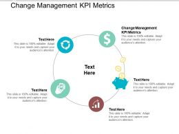 Change Management KPI Metrics Ppt Powerpoint Presentation Gallery Sample Cpb
