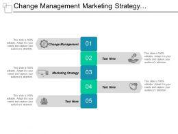 Change Management Marketing Strategy Enterprise Management Leadership Development Cpb