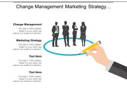 Change Management Marketing Strategy Performance Management Customer Segmentation Cpb