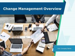 Change Management Overview Powerpoint Presentation Slides