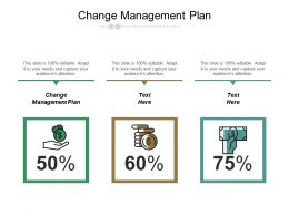 Change Management Plan Ppt Powerpoint Presentation File Example Cpb