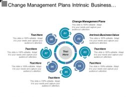 Change Management Plans Intrinsic Business Value Consumer Strategy Cpb