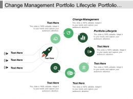 Change Management Portfolio Lifecycle Portfolio Construction Project Dashboard