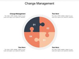 Change Management Ppt Powerpoint Presentation Icon Portrait Cpb