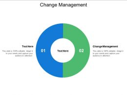 Change Management Ppt Powerpoint Presentation Slides Backgrounds Cpb