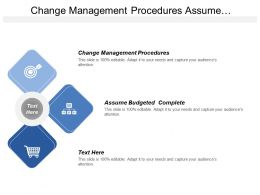 Change Management Procedures Assume Budgeted Complete Hybrid Methods
