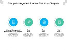 Change Management Process Flow Chart Template Ppt Powerpoint Presentation Model Design Inspiration Cpb