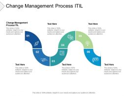 Change Management Process ITIL Ppt Powerpoint Presentation File Cpb