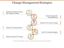 Change Management Strategies Presentation Design